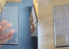 Xiaomi Mi Mix 4: imagem do ecrã mostra-nos as margens super finas e ecrã curvo