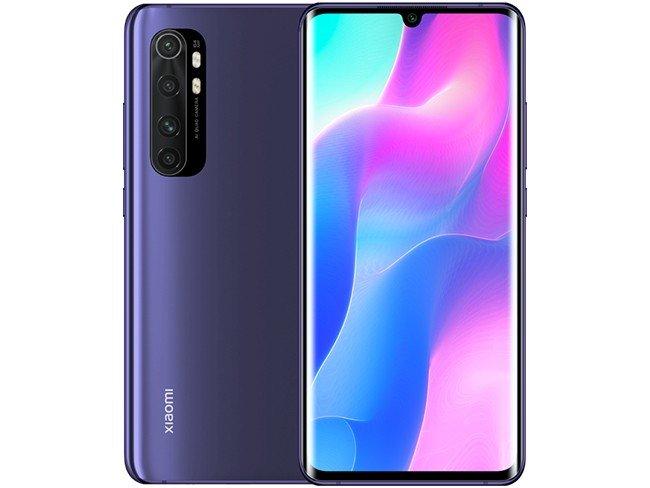 Telemóvel Xiaomi Mi Note 10 Lite em roxo