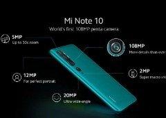 Xiaomi Mi Note 10 tem detalhes das 5 câmaras revelados e são impressionantes!