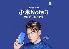 Xiaomi Mi Note 3 vai mesmo chegar com o Xiaomi Mi Mix 2