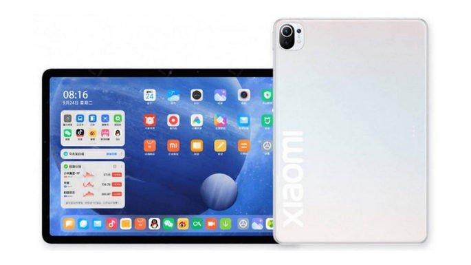 Renderização não oficial do Xiaomi Mi Pad 5
