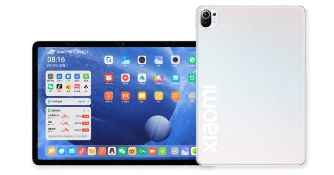 Render não oficial do Xiaomi Mi Pad 5. Crédito: Xiaomi Planet