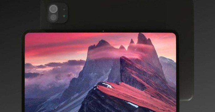 Render não oficial do Xiaomi Mi Pad 5