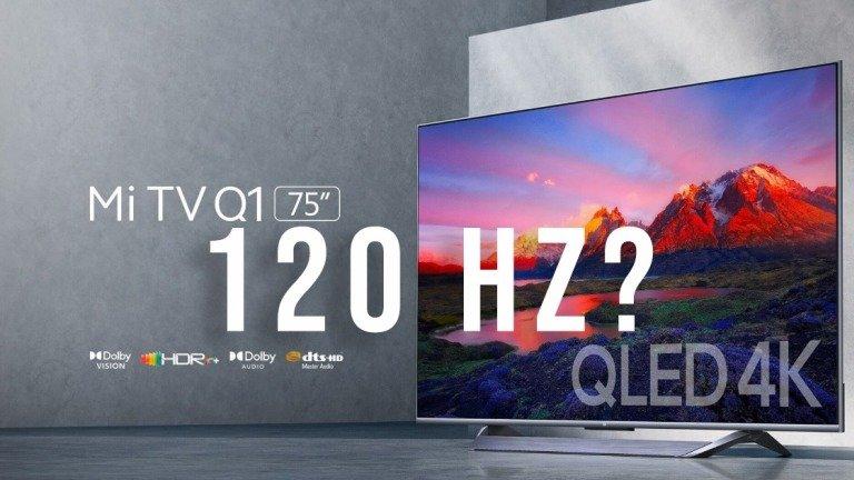 Xiaomi Mi TV Q1 75 tem um grande senão nos 120 Hz para a PS5