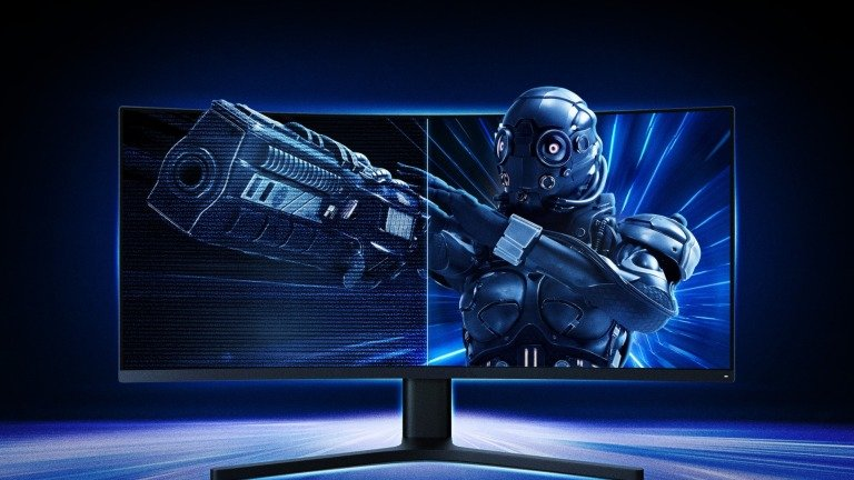 Xiaomi: monitor curvo gaming na Mi Store Portugal com preço oficial