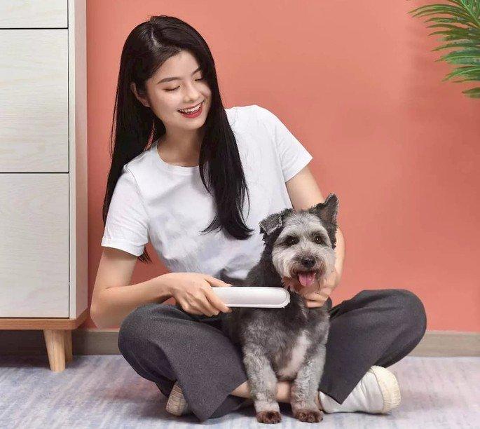 Xiaomi lança um pente que esteriliza o pelo dos gatos e cães!