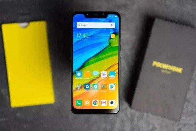 Xiaomi Pocophone F1 atualização