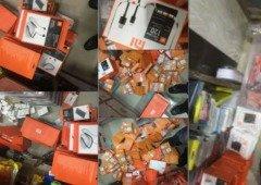 Xiaomi: polícia apreende milhares de produtos falsos!
