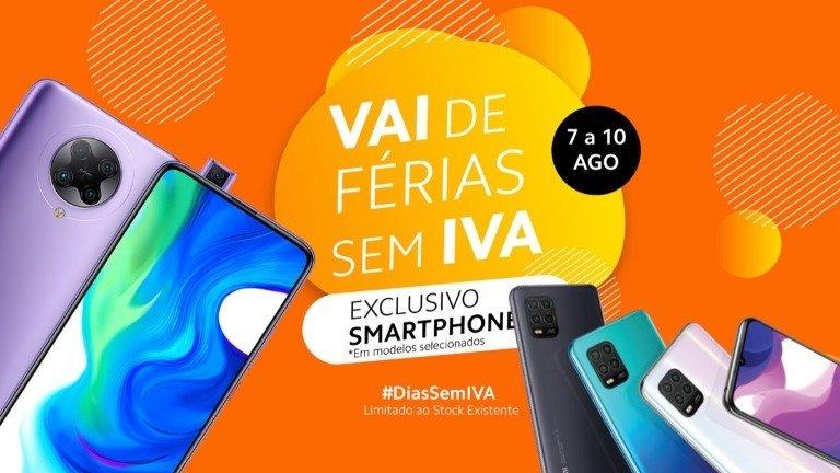 Xiaomi Portugal está com uma promoção em smartphones que não vais querer perder