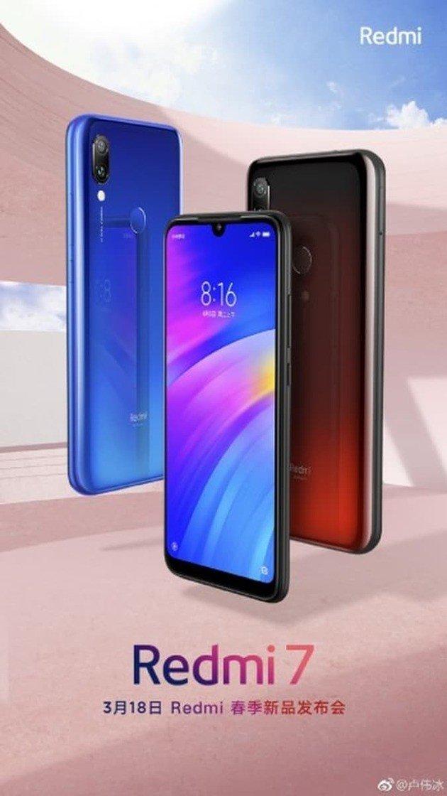 Xiaomi Redmi 7 imagem