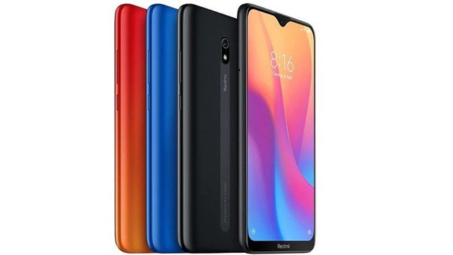 Xiaomi Redmi 8A em várias cores