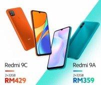 Xiaomi Redmi 9A e Redmi 9C revelados oficialmente! Conhece os novos smartphones