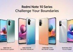 Xiaomi Redmi Note 10 apresentados globalmente: 4 novos smartphones para todos