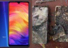 Xiaomi Redmi Note 7 Pro entra em combustão espontânea e fica em chamas!
