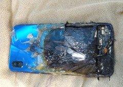 Xiaomi Redmi Note 7s pegou fogo! Mas a Xiaomi diz que não se responsabiliza!