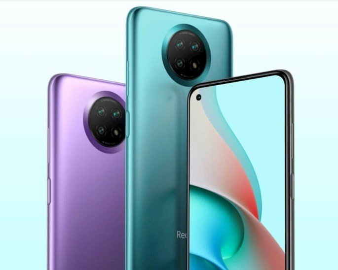 Design do Xiaomi Redmi Note 9 5 (alegado Redmi Note 9T 5G globalmente)