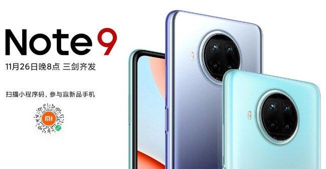 Telemóvel Xiaomi Redmi Note 9