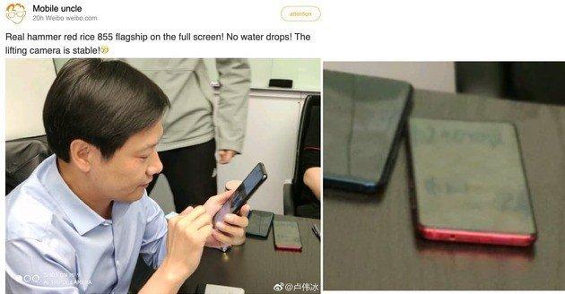 Será este o Xiaomi Redmi com Snapdragon 855