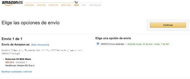 Envios Amazon ES