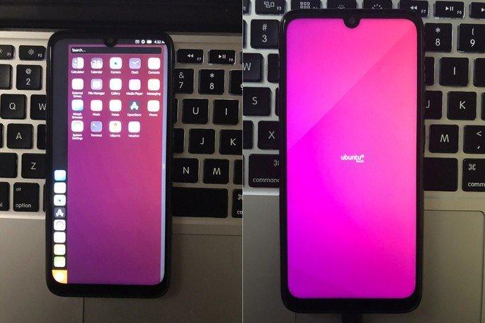 Xiaomi Redmi Note 7 Ubuntu