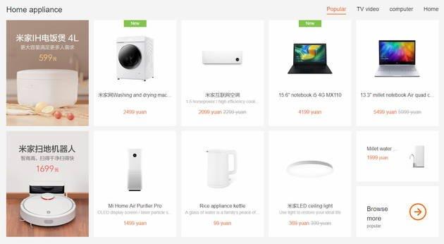 xiaomi smart home produtos