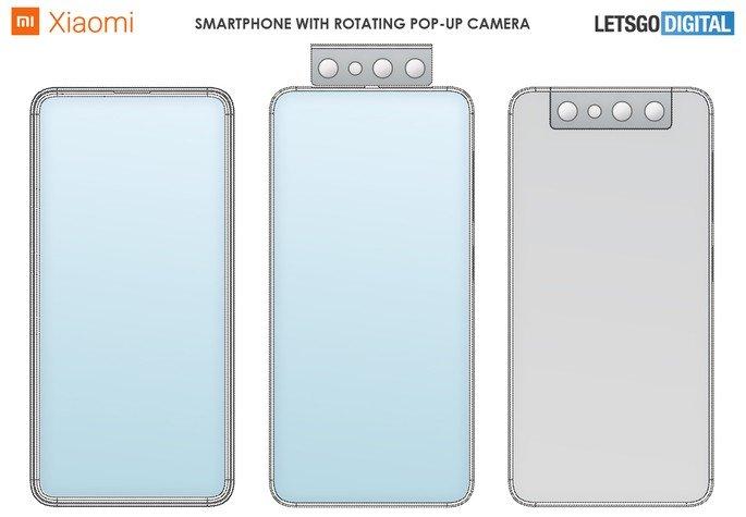 Nova patente da Xiaomi