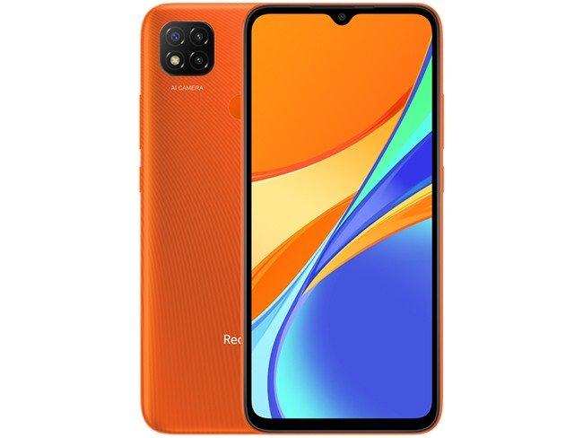 Telemóvel Xiaomi Redmi 9C em laranja