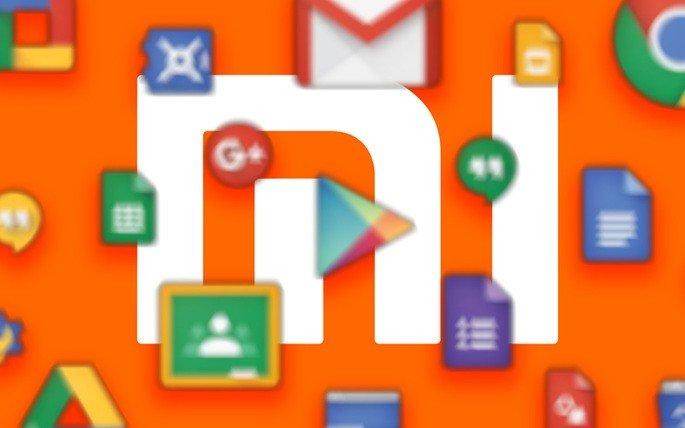 Xiaomi serviços Google