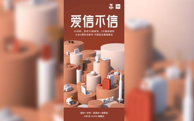 Xiaomi prepara loucura