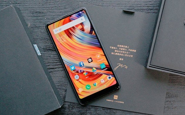 Xiaomi Mi Mix 2 MIUI 10 beta Android Pie