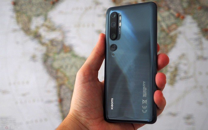 Xiaomi Mi Note 10 promoção