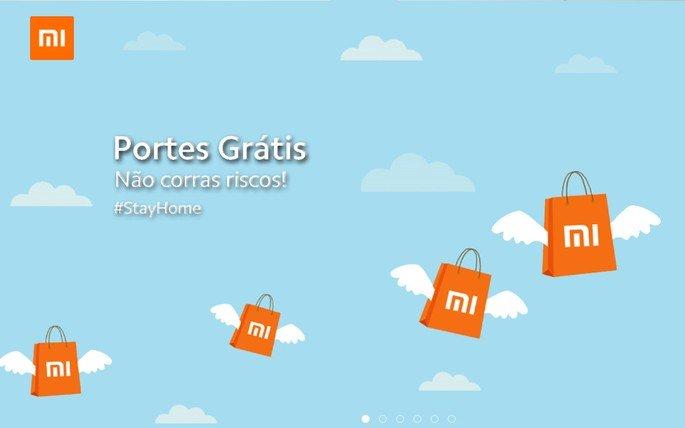 Xiaomi Portugal envios grátis