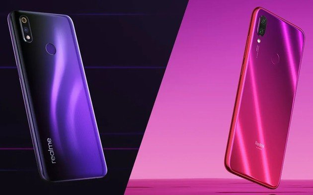 Xiaomi Redmi Note 7 Realme 3 Pro