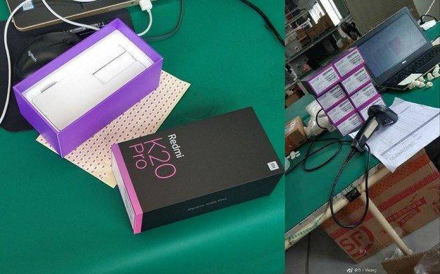 Redmi K20 Pro caixa