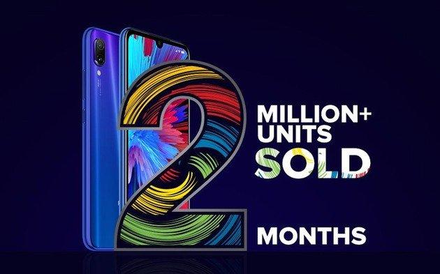 Xiaomi Redmi Note 7 2 milhões