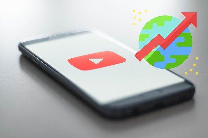 Youtube tendências