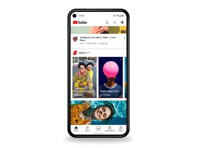 YouTube Shorts Google Portugal