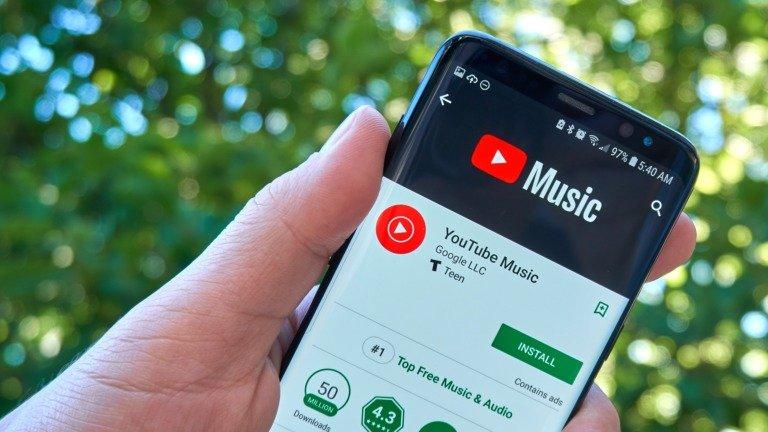 YouTube Music está quase pronto a substituir Google Play Music!