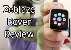 Zeblaze Rover Review Português - Smartwatch Top Chinês