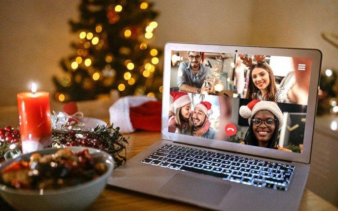 Zoom grátis Natal passagem de ano